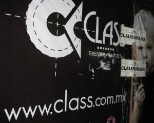 Class tiene obra clausurada en Parque Hundido