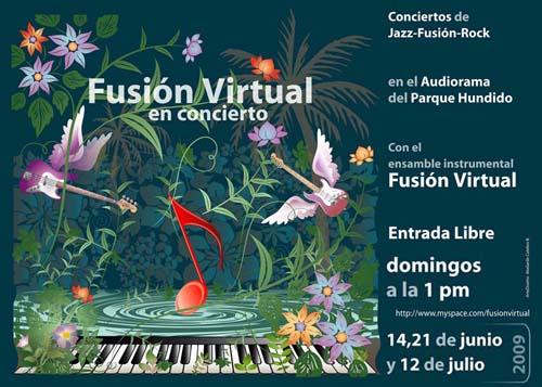 Concierto en el Parque Hundido este domingo 12 de julio