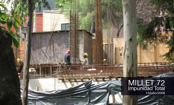 Inicio de Obras en Millet 72, una burla a la ciudadanía.