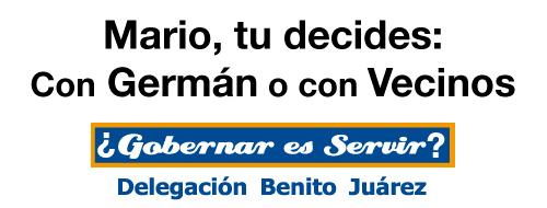 Mario tu decides: Con Germán o con Vecinos